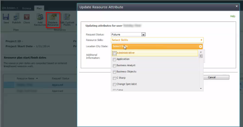 UpdateResourceAttributes