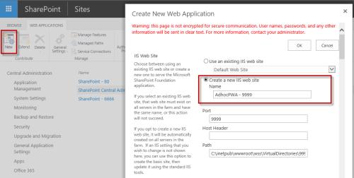 2 - Create Web App